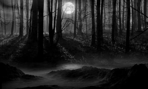 dark-night-full-moon